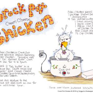 Snigput Vittles – Crock Pot Chicken S1W11