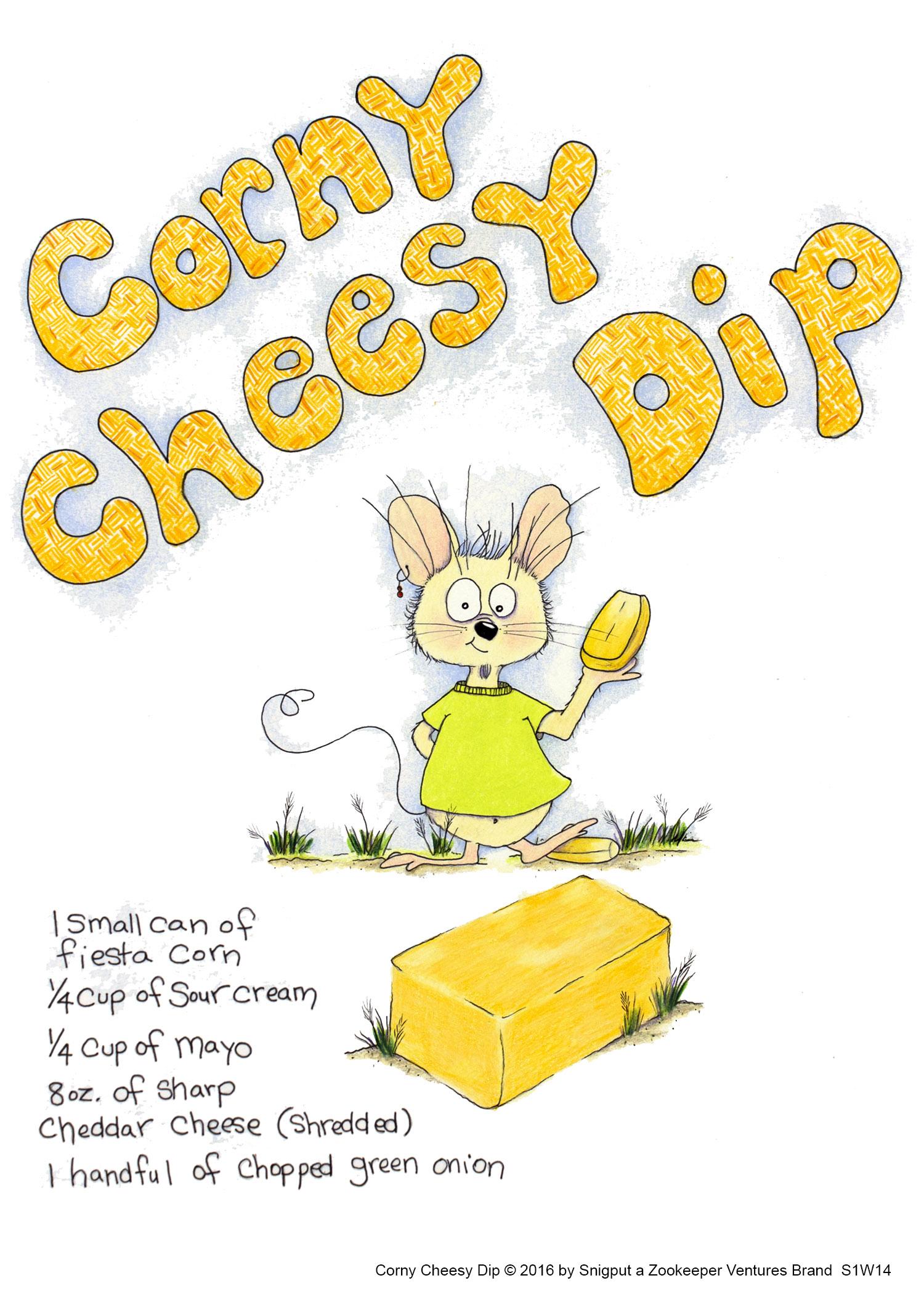 Corny Cheesy Dip