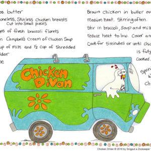 Snigput Vittles – Chicken DiVan S1W29