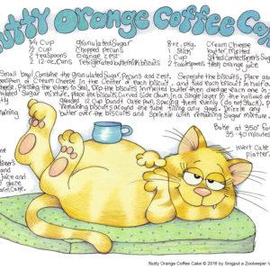Snigput Vittles – Nutty Orange Coffee Cake S1W35
