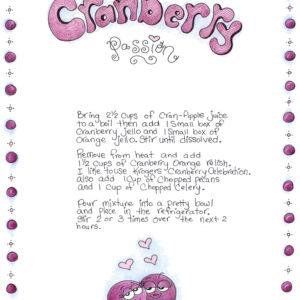 Snigput Vittles – Cranberry Passion – S1W45