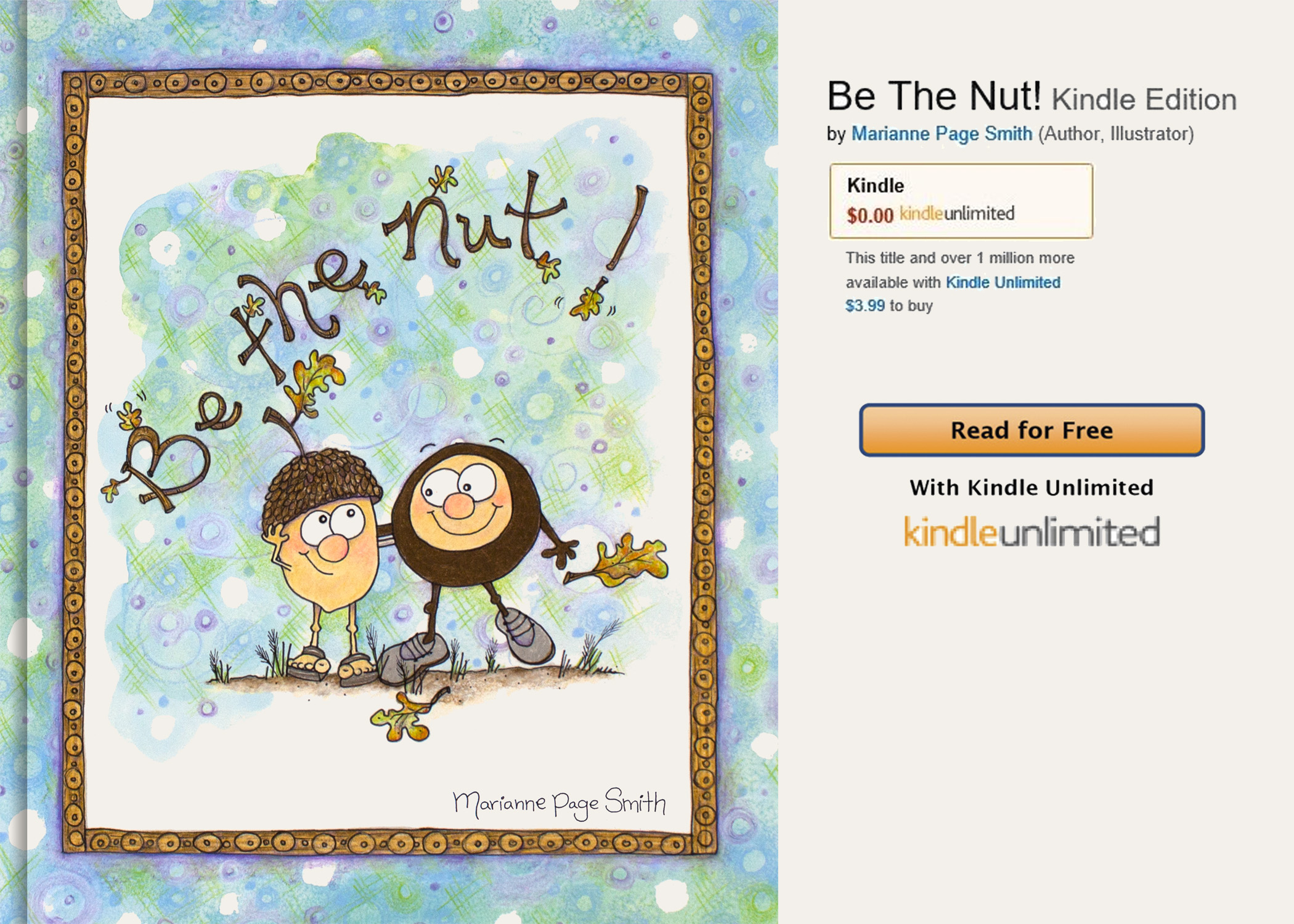 Be The Nut! – Paperback Edition